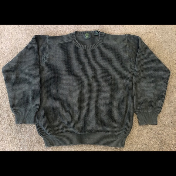 Timberland Other - Timberland Olive Green Crewneck Men's Sweater-L